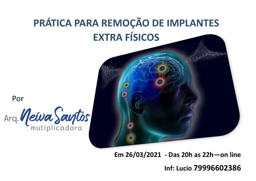 Cartaz de Ativação de retirada de implantes